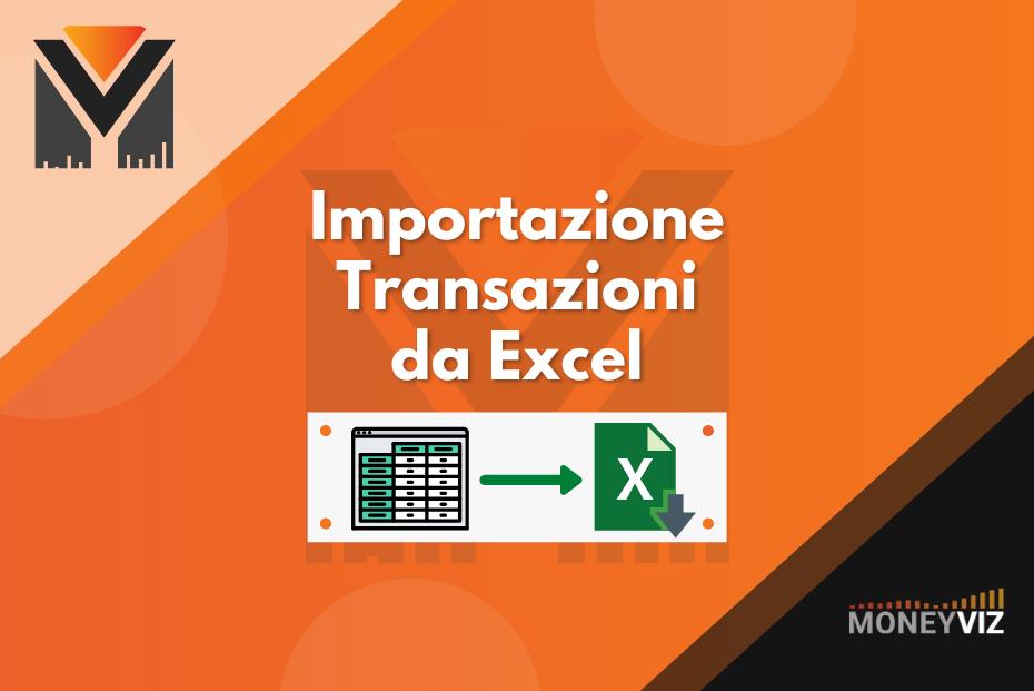 Importazione Estratto Conto / Transazioni da Excel